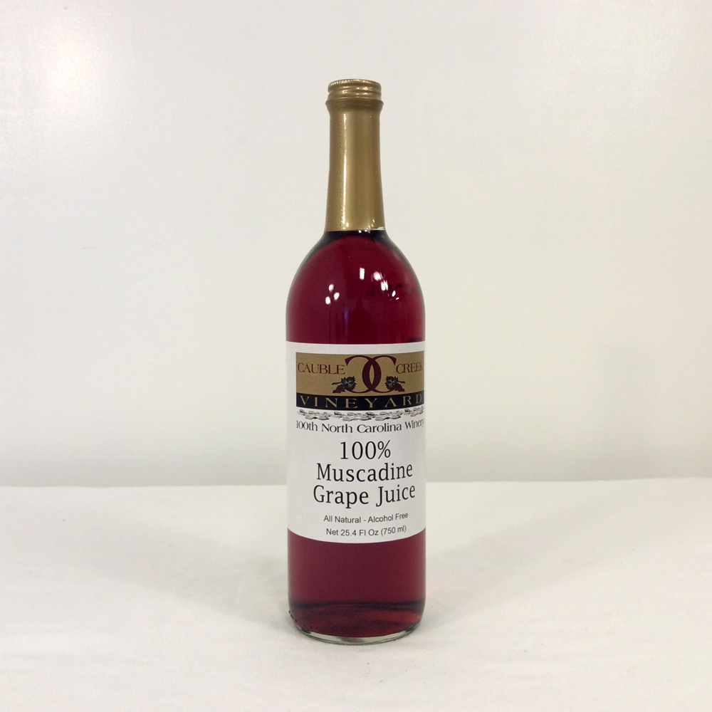 100 Muscadine Juice Red Amp White Cauble Creek Vineyard